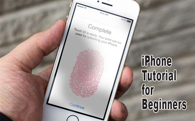iphone tutorial for beginners